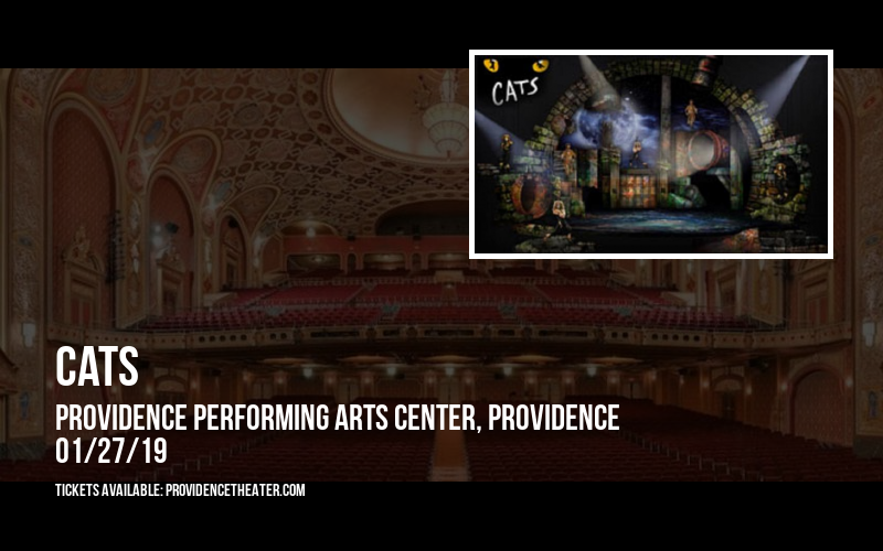 Cats at Providence Performing Arts Center