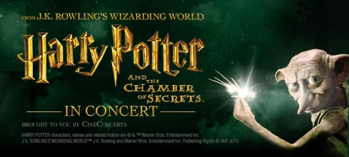 Harry Potter and The Chamber of Secrets In Concert at Providence Performing Arts Center