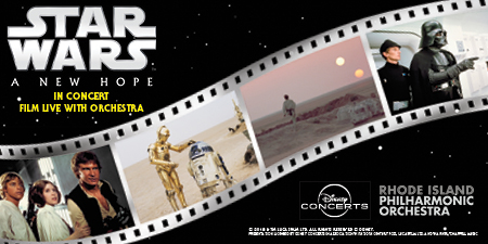 Rhode Island Philharmonic Orchestra - Star Wars: A New Hope at Providence Performing Arts Center