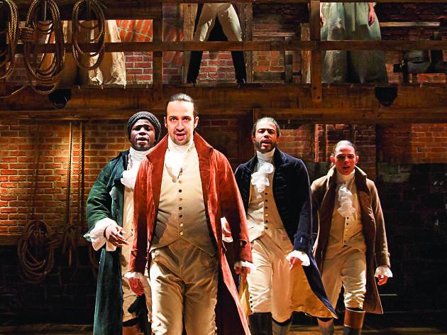 Hamilton at Providence Performing Arts Center