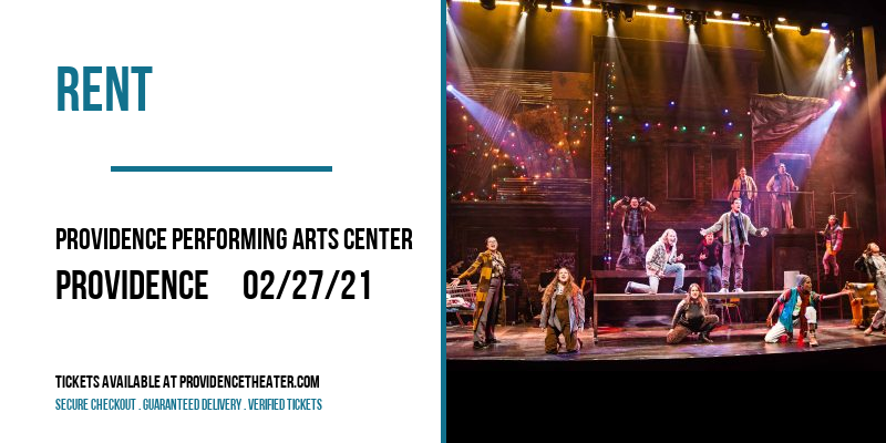 Rent at Providence Performing Arts Center