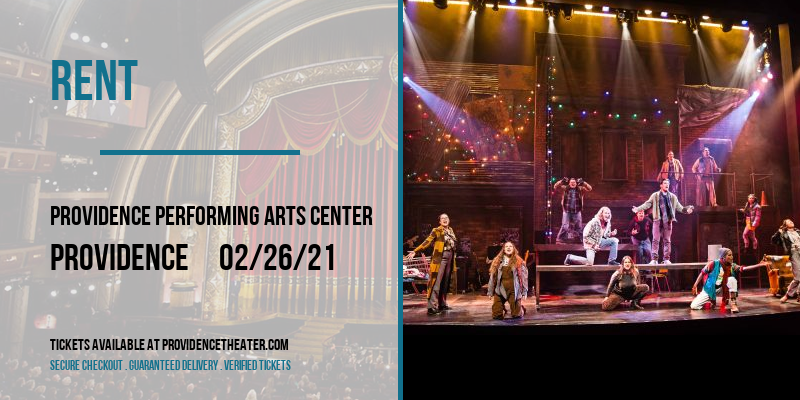Rent [POSTPONED] at Providence Performing Arts Center
