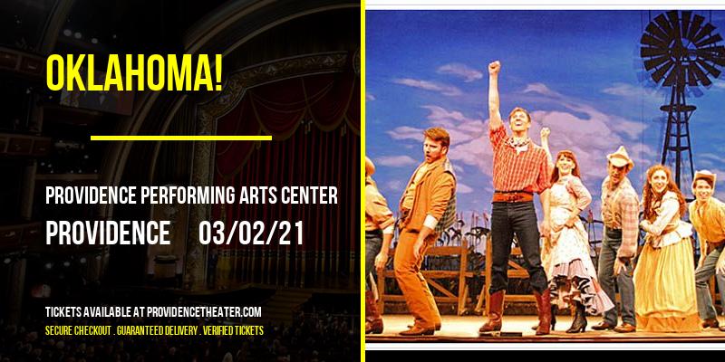Oklahoma! [POSTPONED] at Providence Performing Arts Center