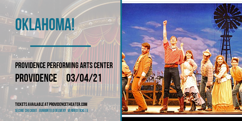 Oklahoma! [POSTPONED] at Providence Performing Arts Center