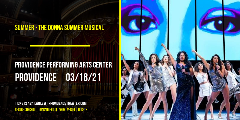 Summer - The Donna Summer Musical [POSTPONED] at Providence Performing Arts Center