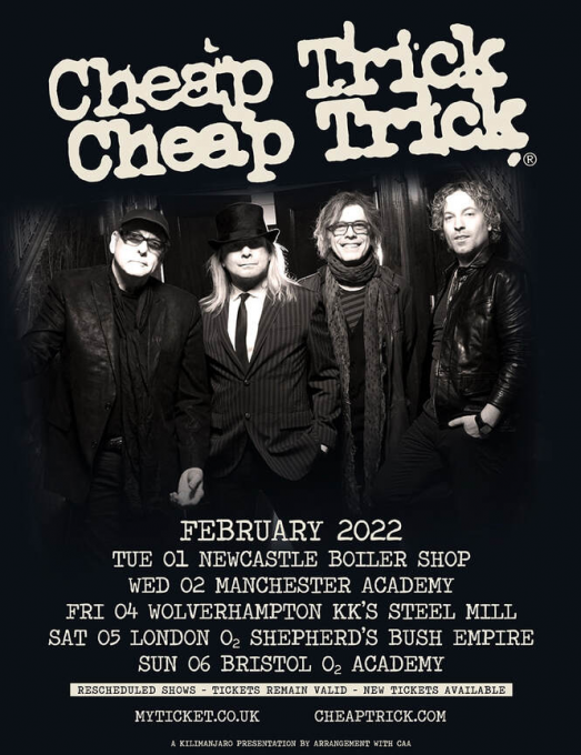 Cheap Trick at Providence Performing Arts Center