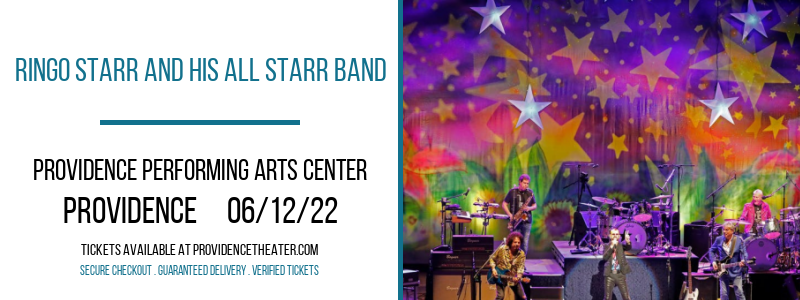 Ringo Starr and His All Starr Band at Providence Performing Arts Center