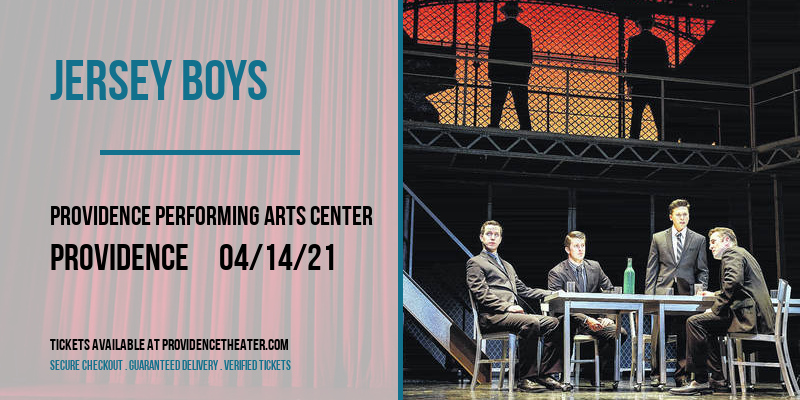 Jersey Boys [CANCELLED] at Providence Performing Arts Center